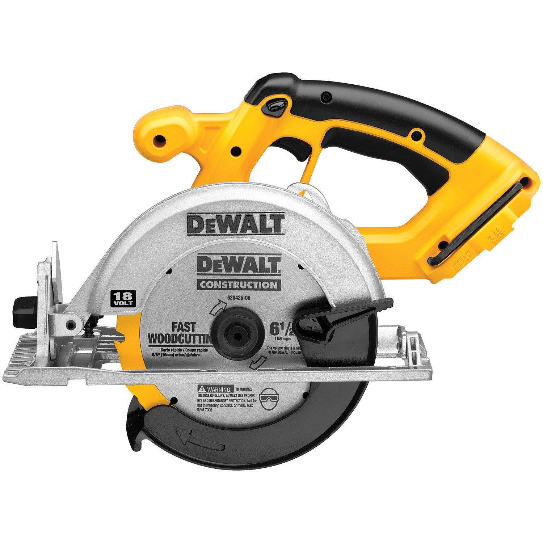 DEWALT DC390B 6-1 2-Inch 18-Volt Cordless Circular Saw Tool Only