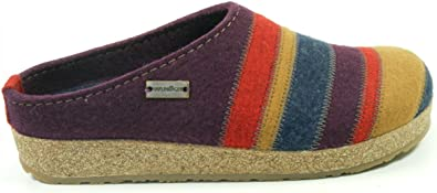 Stripes Grizzly Open Back Slippers