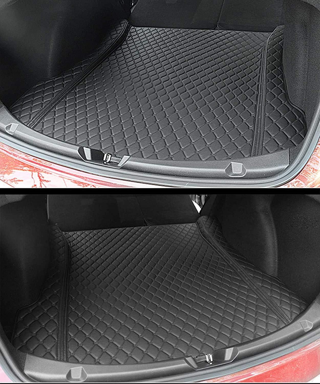 Kofferraumschutz-R/ückenprotektor f/ür Modell 3 Schwarz Topfit Update Version Vollst/ändig Geschlossene Kofferraummatte