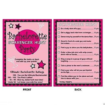 Wedding Bridal Shower BACHELORETTE Party Game Activity SCAVENGER HUNT US Top SelleR