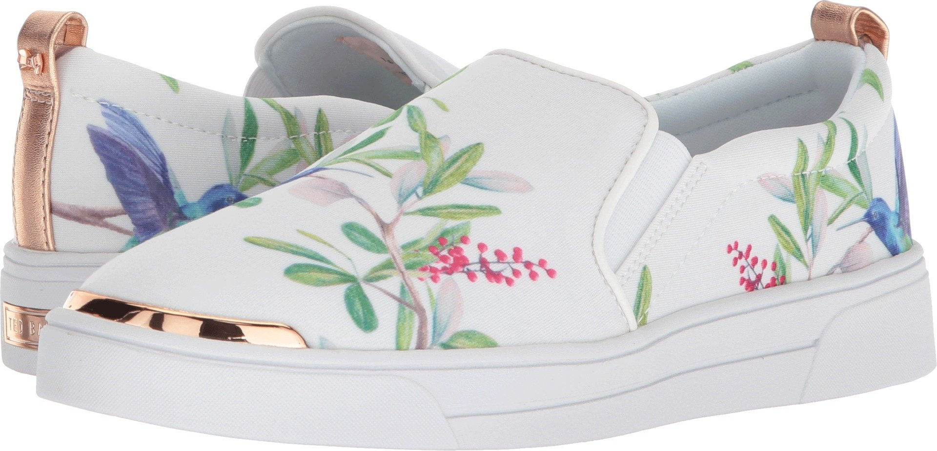 Ted Baker Women's Tancey Sneaker, Highgrove Hummingbird, 8 Medium US