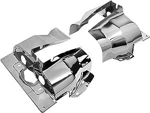 IAP Performance AC119301 Cylinder Head Tin (Chrome Single Port Pair for VW Beetle)