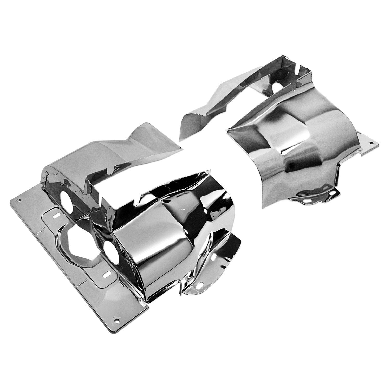 Chrome Single Port Pair for VW Beetle IAP Performance AC119301 Cylinder Head Tin
