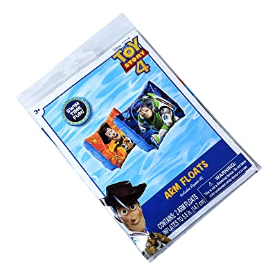 Disney Pixar Toy Story 4 - Arm Floats Includes Repair Kit - Swim Time Fun!: Toys & Games