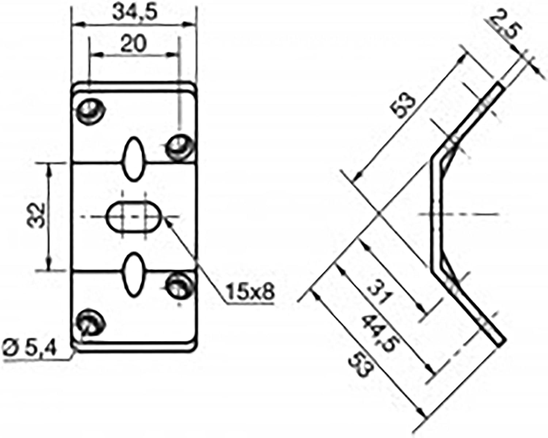 The Bed Slats Company Table Leg Furniture Corner Brackets Fixings Steel Braces Supports Joist