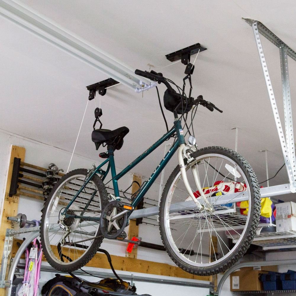 Discount Ramps 2-Bike Elevation Garage Bicycle Hoist Kit by Discount Ramps (Image #5)