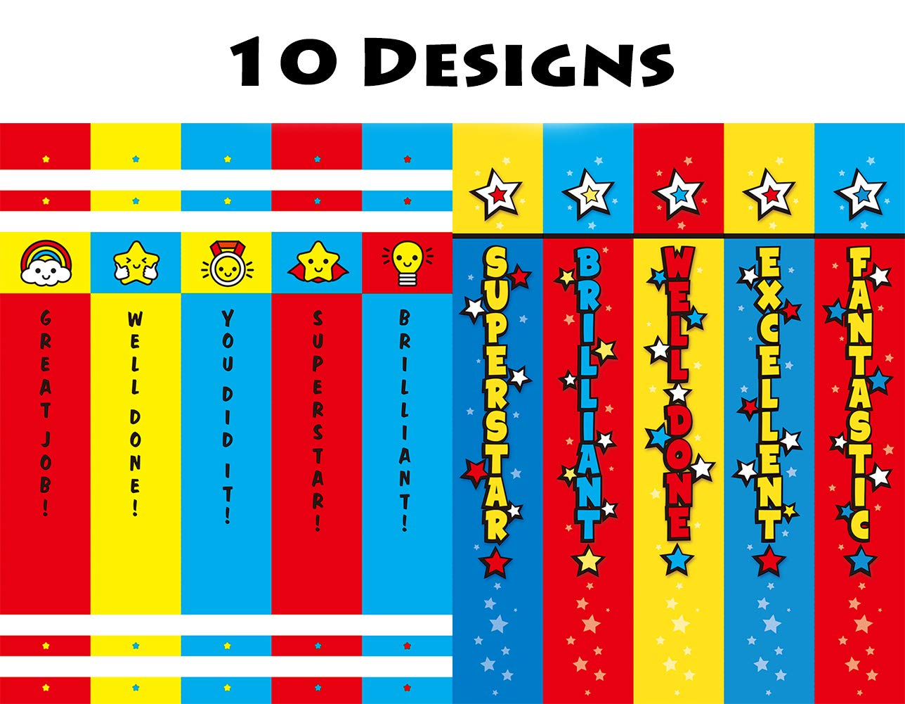 Madisi Assorted Colorful Pencils, Incentive Pencils,#2 HB, 10 Dsigns, 150 Pack, pencils bulk for kids by Madisi (Image #4)