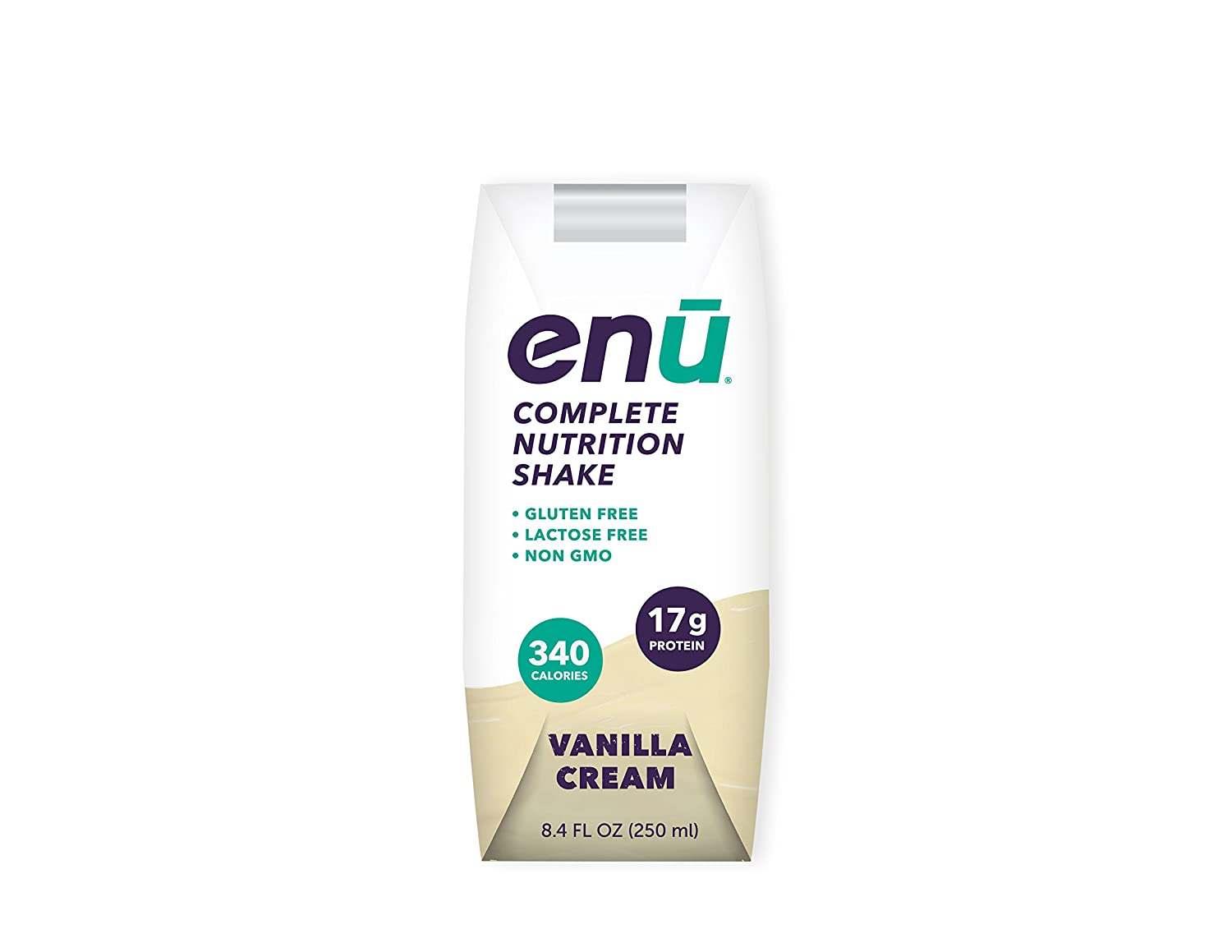 Amazon.com : ENU Nutrition Shakes, 23g Protein / 450 Calories, Meal ...