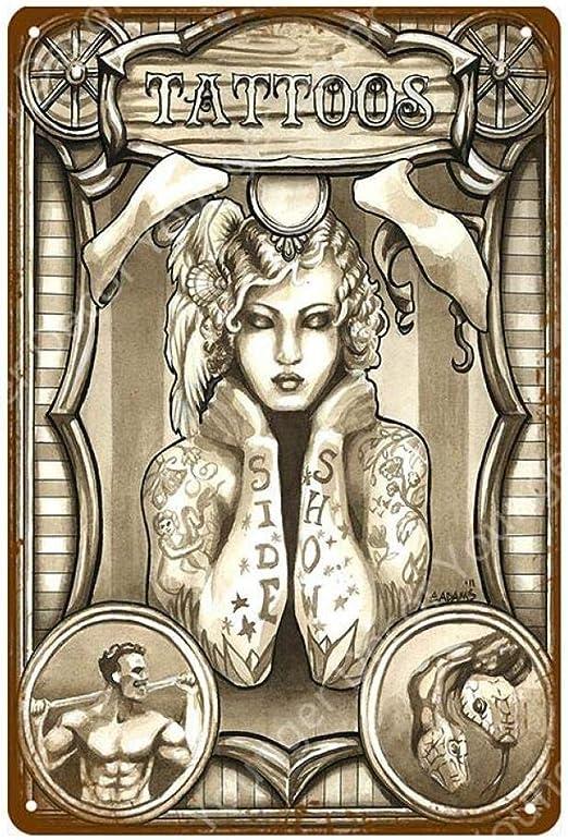 shovv Tienda de Tatuajes clásicos Decoración Sexy Pin Up Girl ...