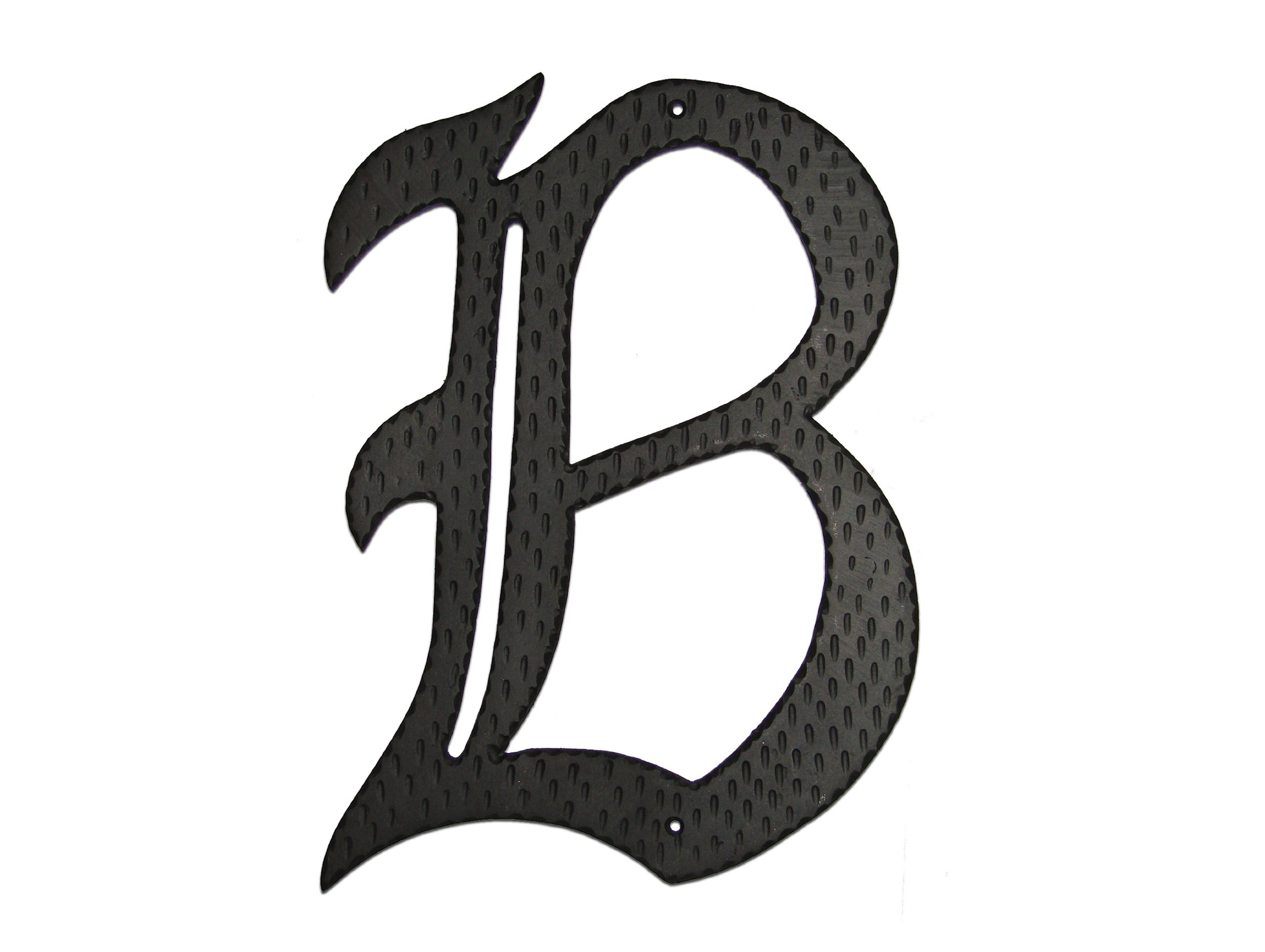 Montague Metal Products Home Accent Monogram, B, 24-Inch