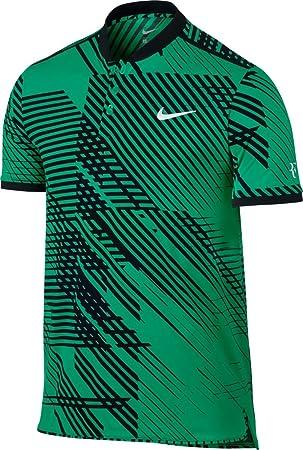 Nike RF M ADV Polo Premier Camiseta de Manga Corta Línea Roger Federer de Tenis, Hombre, Verde (Stadium Green/Black / White), 2XL: Amazon.es: Deportes y ...