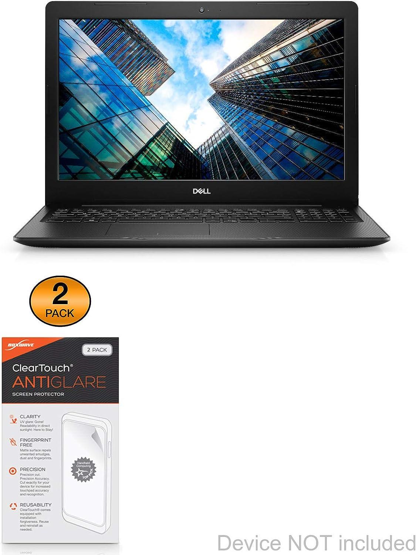 2-Pack Dell Vostro 15 3583 Screen Protector ClearTouch Anti-Glare Anti-Fingerprint Matte Film Skin for Dell Vostro 15 3583 BoxWave/®