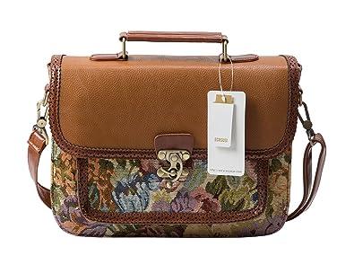 Amazon.com: ECOSUSI Fashion Girl's Faux Leather Satchel Purse ...
