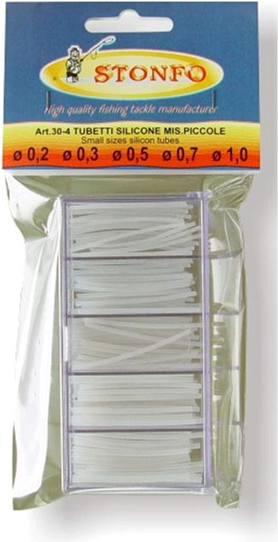 Tubertini Tubicini Silicone Micro Tubo 0.5 mm 100 cm Varie Misure Galleggianti da Pesca