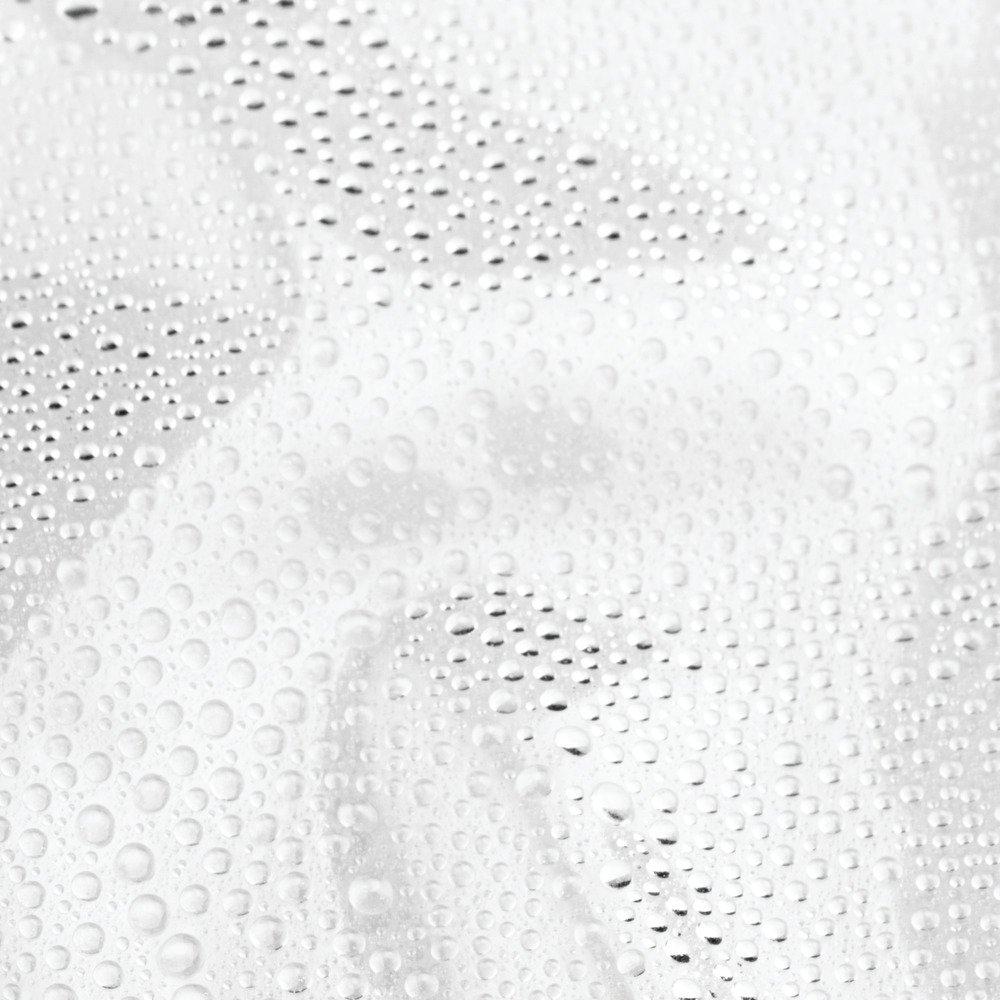 InterDesign Vinilo 4,8/Maletero de Ducha de Calibre Transparente Vinilo 54-Inch by 78-Inch