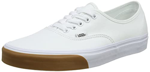 Vans Authentic, Sneaker Unisex - Adulto, Bianco (Gum Bumper True White/True White Q8r), 37 EU