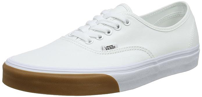 Vans Authentic Sneaker Erwachsene Unisex Weiß Gum Bumper