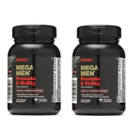 GNC Mega Men Prostate and Virility Multivitamin with Saw Palmetto Lycopene (2 Pack...