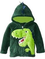 CM-Kid Little Boys Coral Fleece Hoodies Winter Jacket Coats Outerwear 1-6T