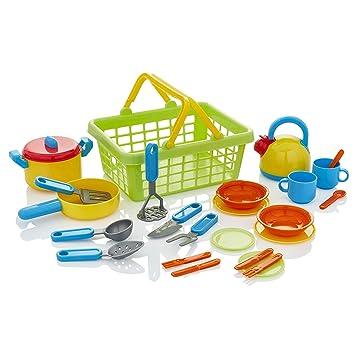 Serve La Cocina De Playset Kiddyplay Cookamp; Cesta vmn0wN8