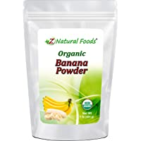 Organic Banana Powder - Fruit Supplement For Smoothies, Desserts, Drinks, Baking, & Cooking - Dried Superfood For Long…