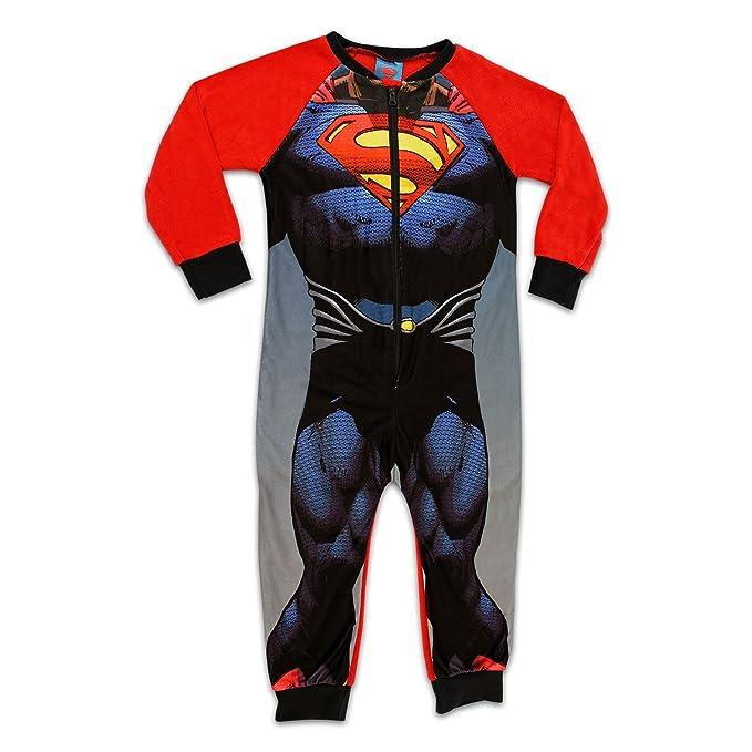 2bc08b7bd3 NEW para hombre traje de neopreno para mujer BATMAN con capucha pijama con cremallera  SUPERMAN incluye. Pijama de Superman