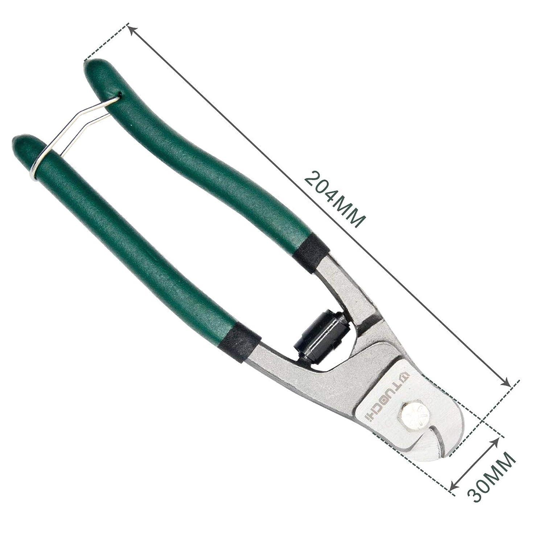 ZXYAN para Cable y Carcasa de Bicicleta de Acero Inoxidable con Cable de Acero cortadores de Cable y cortadores de Cable