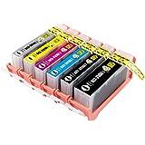 BCI-351XL+350XL/6MP CANON(キヤノン)対応・互換インクカートリッジ ICチップ付き 残量表示可能