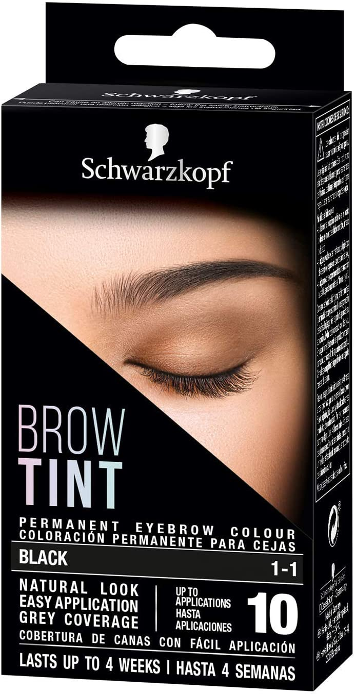 BROW TINT tinte cejas #1-1-negro: Amazon.es: Salud y cuidado ...