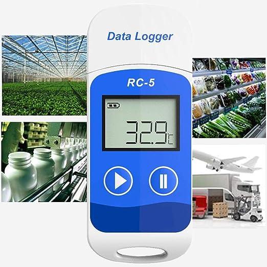 Registrador de Datos de Temperatura USB RC-5 32000 Puntos Software ...