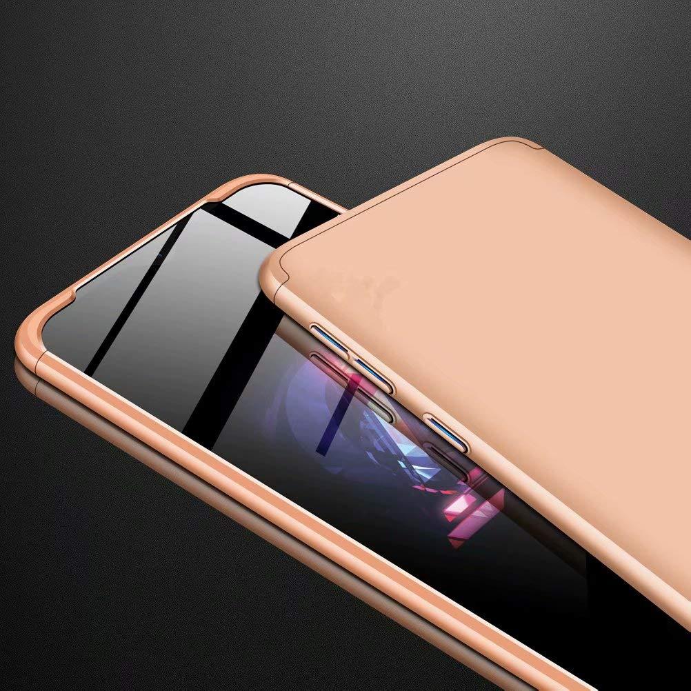 3 en 1 Hard PC Caja Cover Resistente al Desgaste+Regalar 2*HD Vidrio Templado Carcasa Case-Oro Azihone Funda Compatible Samsung Galaxy S10 con 360/°Todo Incluido Anti-Scratch