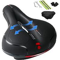 Ankuka Bike Seat, Comfortable Memory Foam Waterproof Bicycle Saddle, Universal Fit, Shock Absorbing Including Mounting…