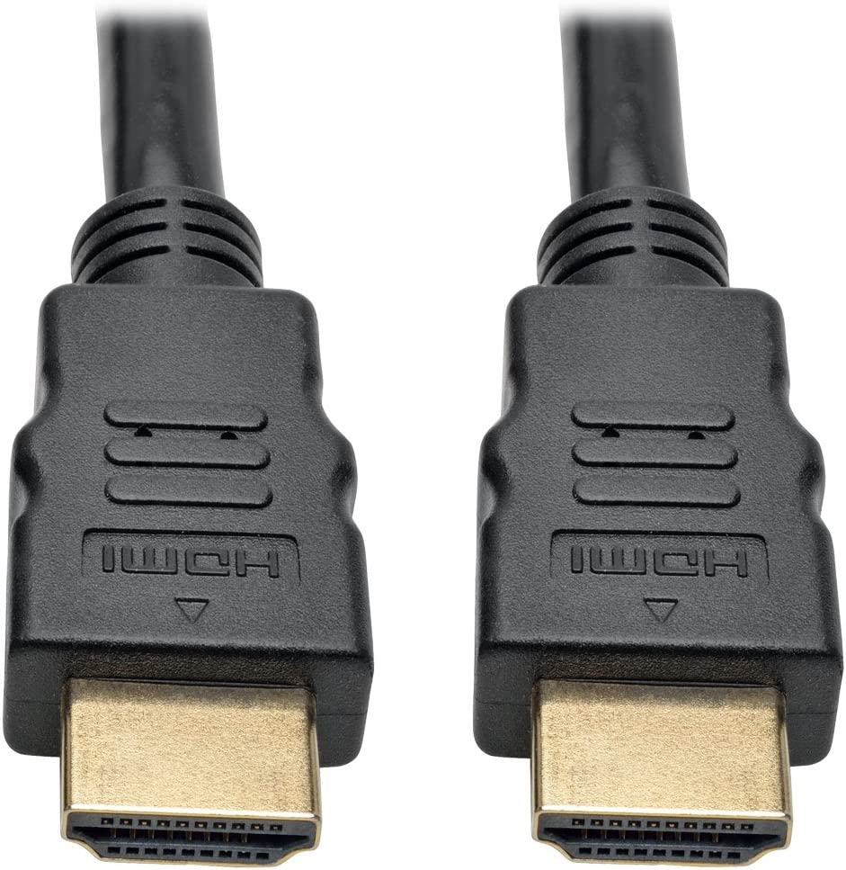 1080p @ 60 Hz 65 ft. 1920 x 1080 M//M Black Tripp Lite Active High-Speed HDMI Cable with Built-In Signal Booster P568-065-ACT