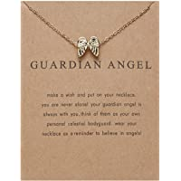 Guardian Angel Necklace for Women Grils - Friendship BFF Necklace for Mom Daughter Aunt Niece Sister Gifts Best Friend…