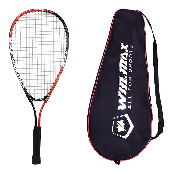 Juego de raqueta de squash Winmax con 2 raquetas de squash y una bolsa de transporte: Amazon.es: Deportes y aire libre