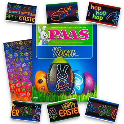 Paas Egg Decorating Kit Neon: Toys & Games