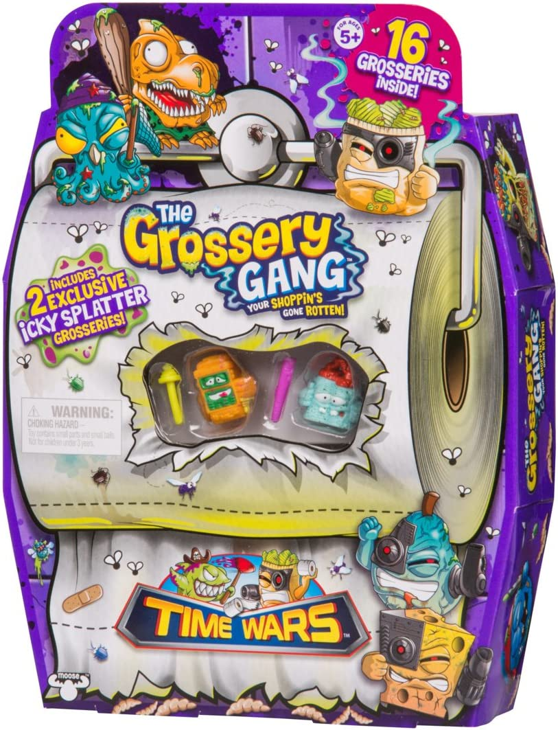 Grossery Gang The Time Wars Supersize Pack: Amazon.es: Juguetes y ...
