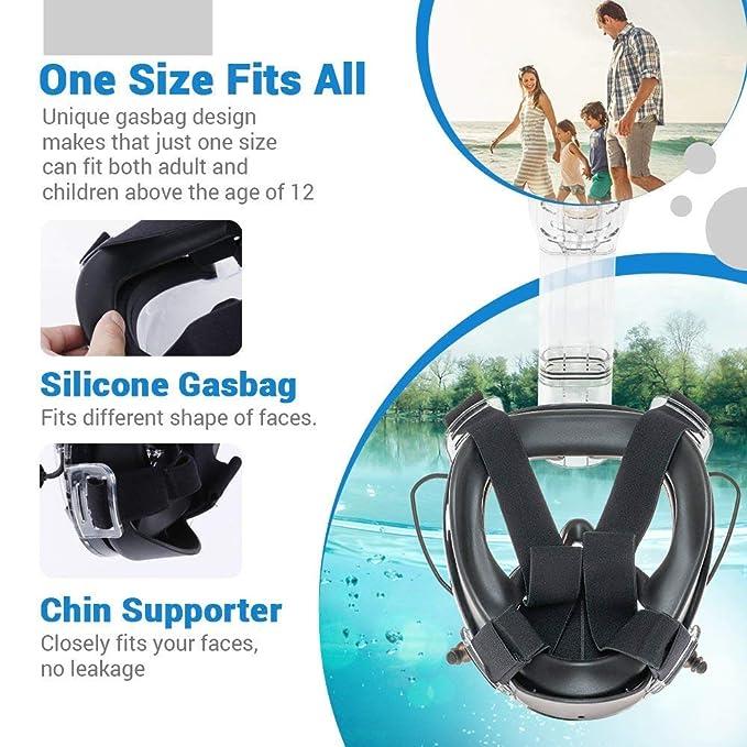 Maschera Snorkeling e Subacquea - Caratteristiche Aggiornate ...
