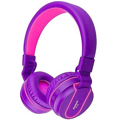 Auriculares Bluetooth, biensound BT05 ligero plegable auriculares inalámbricos Bluetooth auriculares con micrófono y Control de