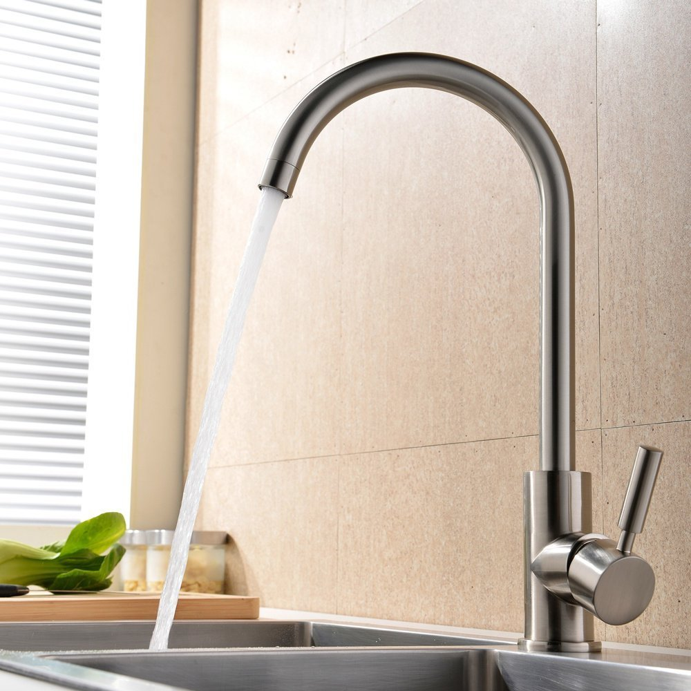 Touch On Kitchen Sink Faucets | Amazon.com