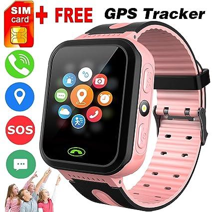 Amazon.com: iGeeKid - Reloj inteligente con GPS, con tarjeta ...