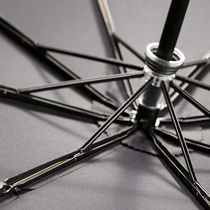 Knirps Fiber Big Duomatic - Paraguas, Color Negro