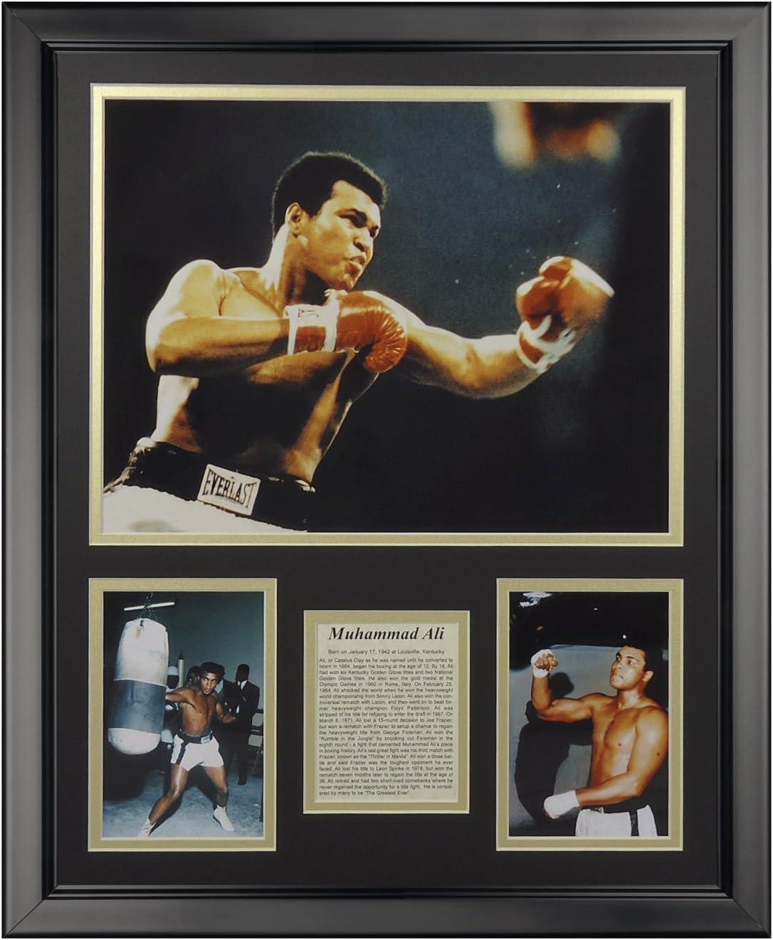 16 x 20 Legends Never Die Muhammad Ali Framed Photo Collage