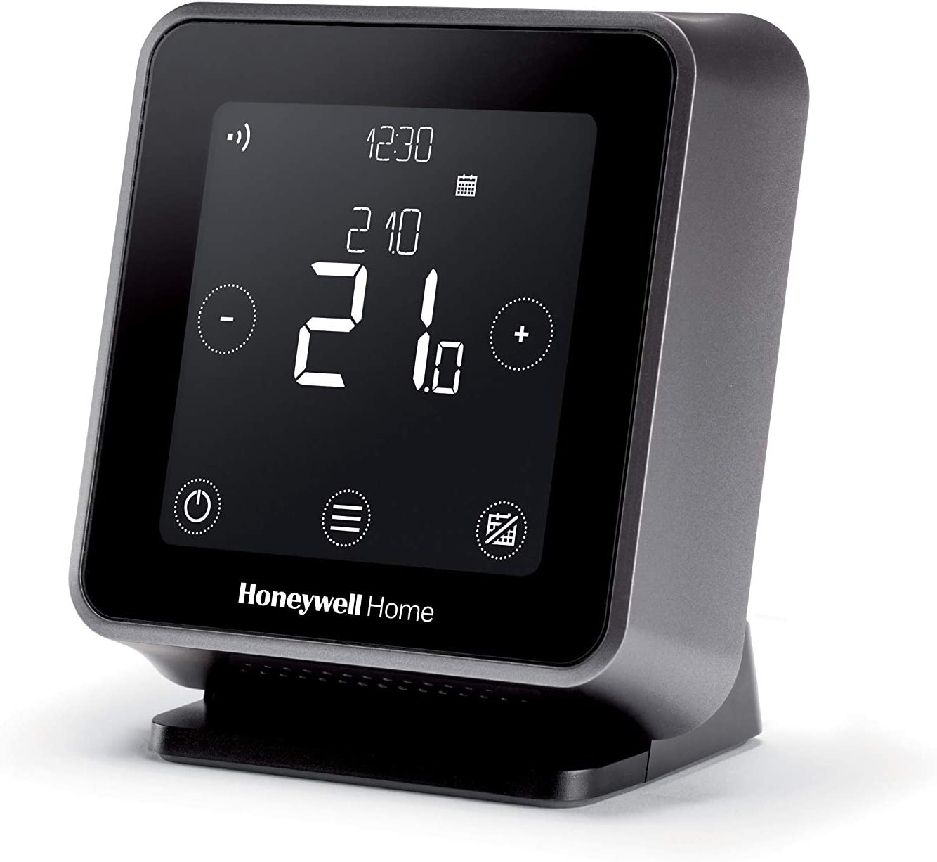 Honeywell Home T6R Wireless Smart Thermostat — W-iFi App-Enabled to Save Money and Improve Efficiency — Compatible with Apple HomeKit, Google Home, Amazon Alexa and and IFTTT, Black (1 Piece)