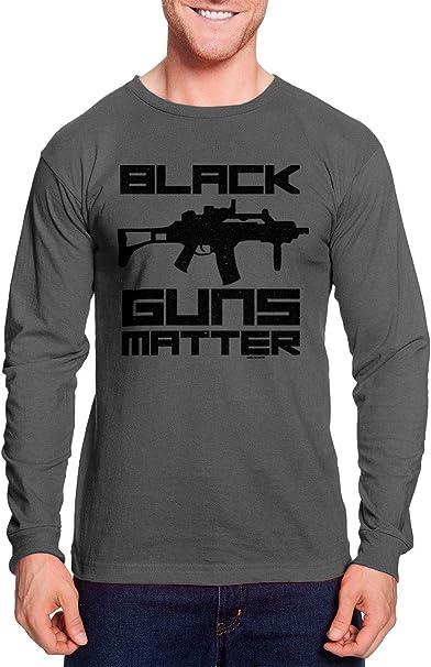 Black Guns Matter Gun Shirt 2nd amendment