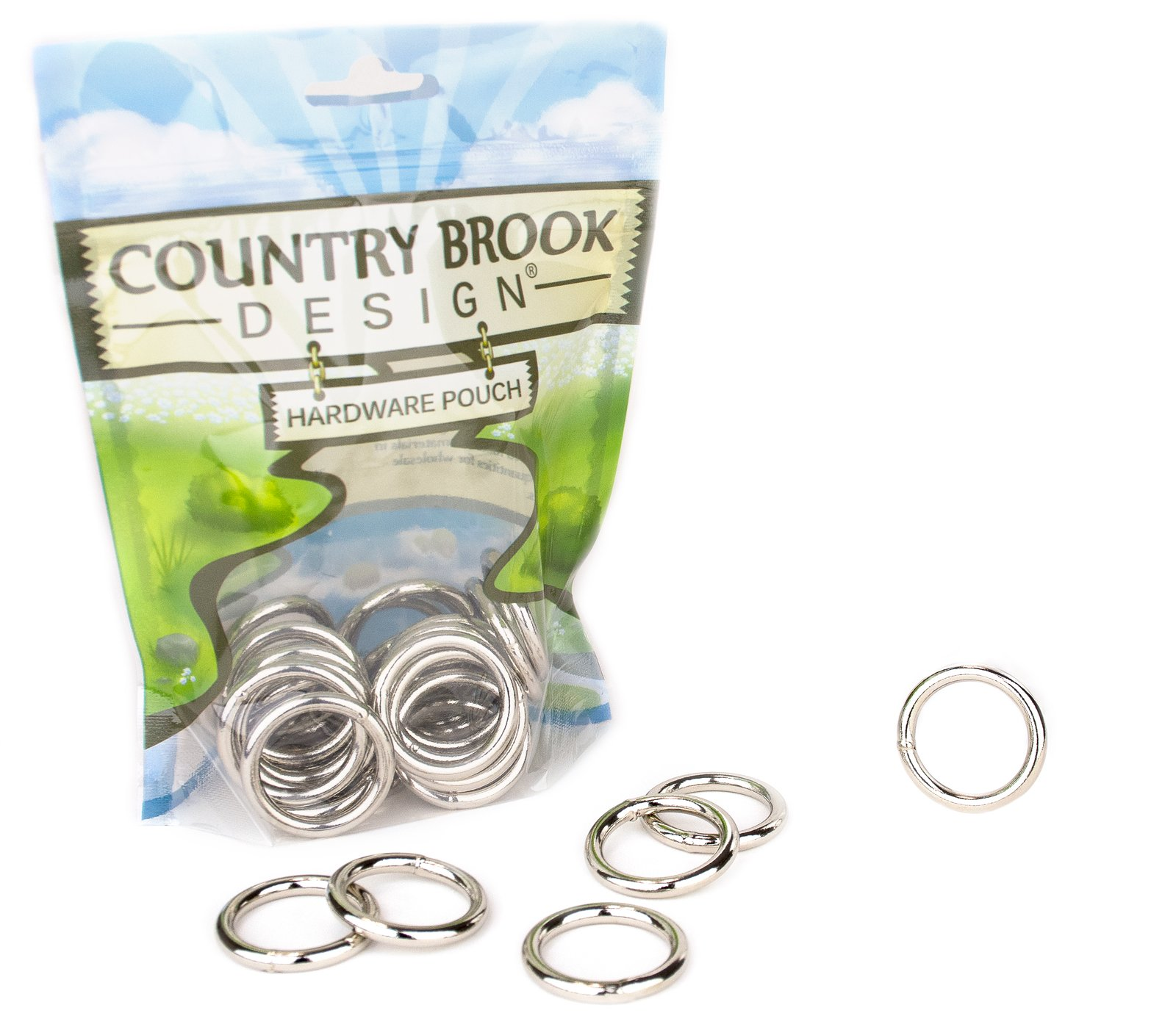50 - Country Brook Design | 1 Inch Welded Heavy O-Rings