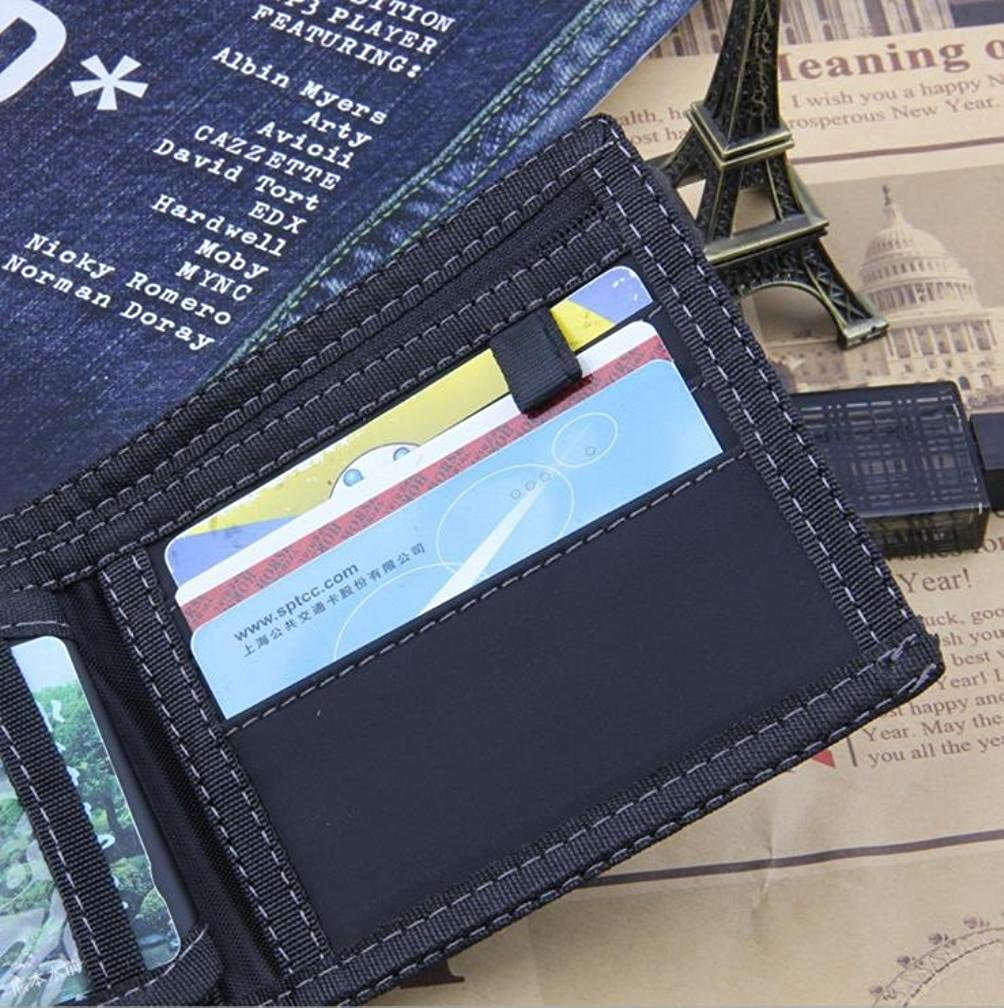 Amazon.com: Canvas cowboy mens Wallet,Credit Carder Holder Purse,Coin pocket RFID protection: Clothing