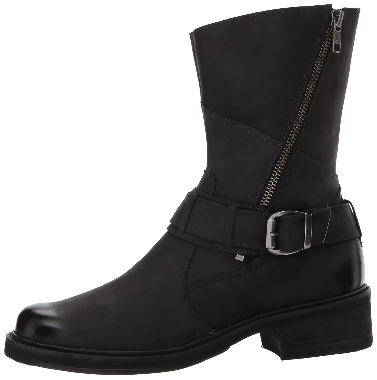 Walking Cradles Women's Dallas Ankle US Black Boot B01N7PPSFR 7.5 XW US Black Ankle Distressed d23277