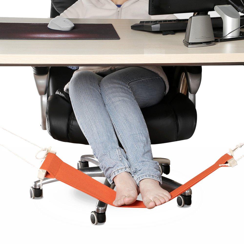 amazon    smagreho portable adjustable mini office foot rest stand desk foot hammock  orange   garden  u0026 outdoor amazon    smagreho portable adjustable mini office foot rest      rh   amazon