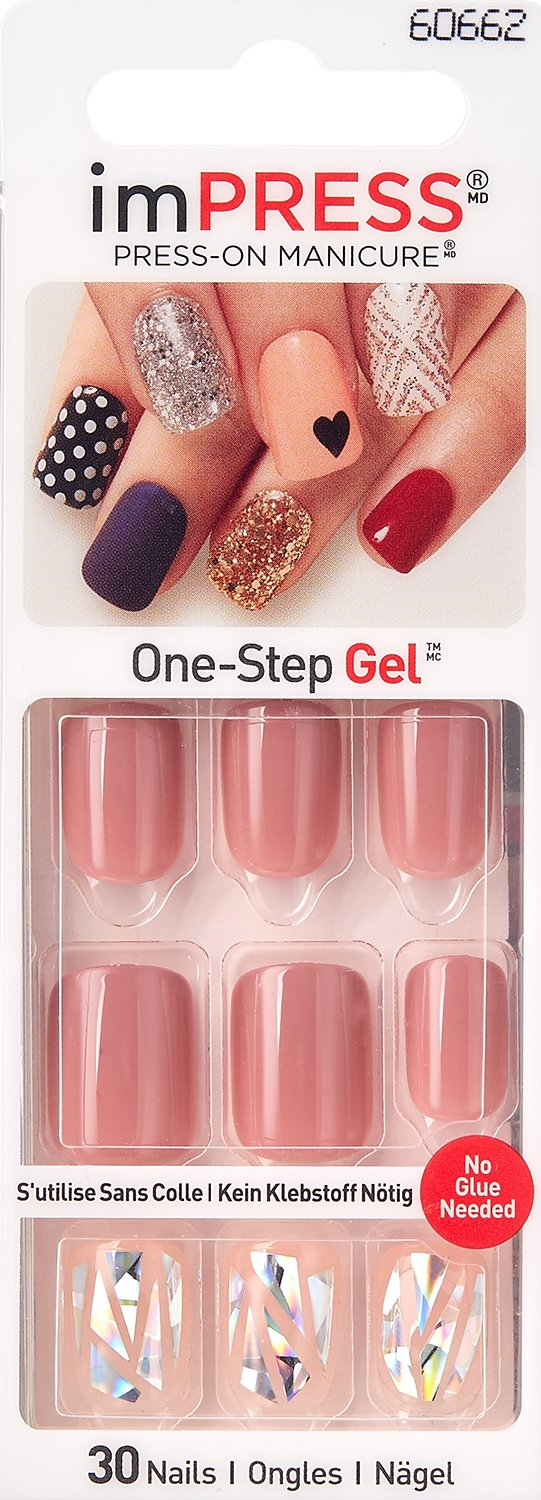 Kiss GEL imPRESS''SHIMMER'' Nails by Broadway Press-On Manicure by Broadway